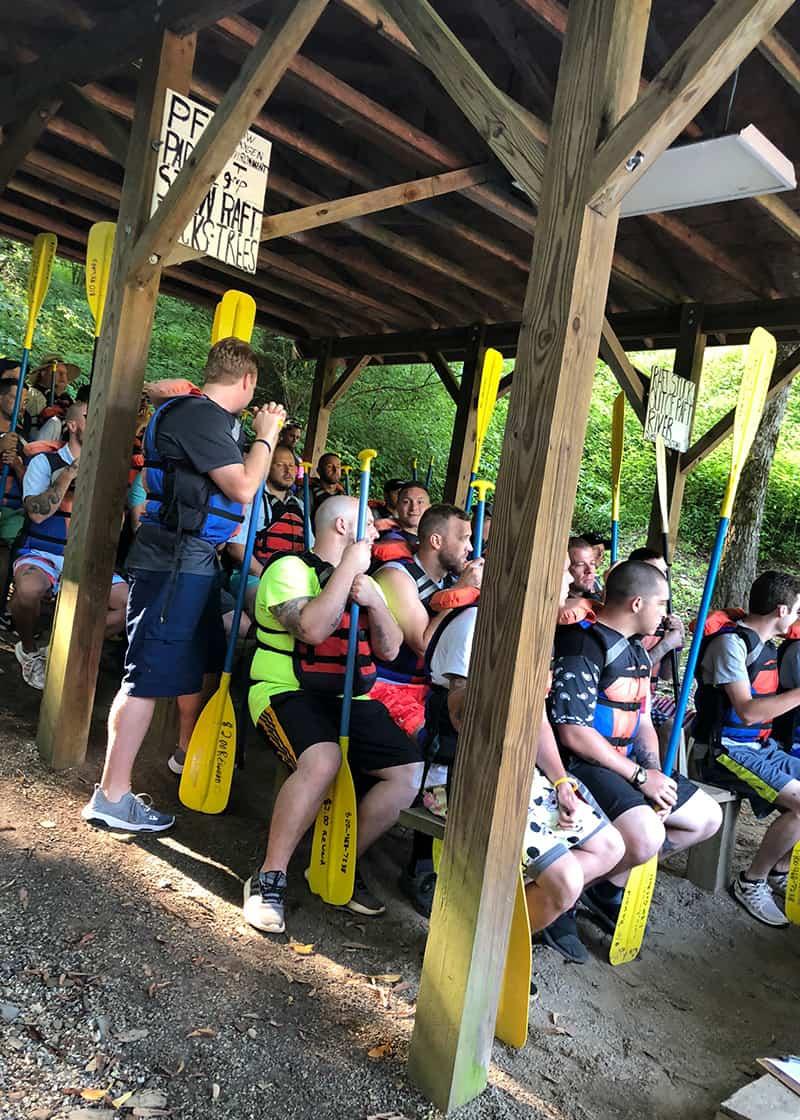 Waypoint rafting